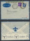 Italien Auslands-LuPo-Zensur-Brief Firenze 1940 Deutsche Zensur (44924)