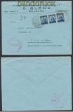 Italien Auslands-Zensur-Brief Firenze 1947 alliierter Zensur (44925)