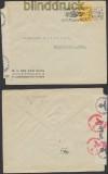 Niederlande Auslands-Zensur-Brief Rotterdam 11.3.1943 Deutsche Zensur (44927)