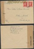 Niederlande Auslands-Zensur-Brief Leiden 25.9.1945 Niederländische Zensur (44929)