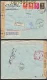 Rumänien Auslands-LuPo-Zensur-Brief Bukarest 25.2.1942 (44936)