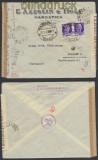 Italien Auslands-Zensur-Brief Marostica 1942 Doppel-Zensur (44919)