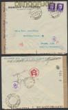 Italien Auslands-Zensur-Brief Marostica 1942 Doppel-Zensur (44918)