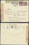 Dänemark Auslands-Zensur-Brief Aarhus 1942 (44886)