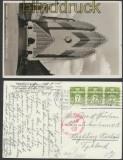Dänemark Auslands-Zensur-Ansichtskarte Kopenhagen 1940 (44888)