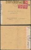 Frankreich Auslands-Zensur-Brief Nancy-Entrepot 1941 (44892)