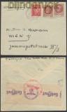 Frankreich Auslands-Zensur-Brief Paris 1943 Deutsche Zensur (44896)