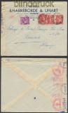 Frankreich Auslands-Zensur-Brief Bayonne 1941 Deutsche Zensur (44899)