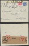 Frankreich Auslands-Zensur-Brief Paris 1942 Deutsche Zensur (44900)