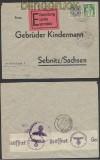 Schweiz Auslands-Eil-Zensur-Brief Bern 1941 Deutsche Zensur (44966)