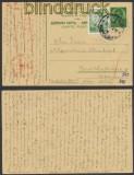 Jugoslawien Auslands-Zensur-Karte Kocevje 17.5.1940 Deutsche Zensur (44980)