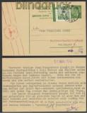 Jugoslawien Auslands-Zensur-Karte Tržic 1940 Deutsche Zensur (44981)