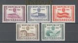 Österreich Mi # 1012/16 postfrisch (45253)