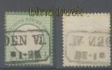 dt. Reich Mi #   2 b gestempelt geprüft Brugger BPP (45280)