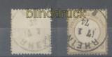 dt. Reich Mi #   6 gestempelt geprüft Krug BPP (45283)