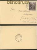 dt. Reich Mi # 694 EF Postkarte SSt. Tag der Arbeit 1939 (44751)