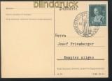dt. Reich Mi # 700 EF Blanko-Karte SSt. München  (45259)