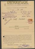Bi-Zone Bauten Mi # 74 wg EF Drucksache entwertet Landpoststempel Libur 1948 (45061)