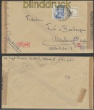 Spanien Auslands-Zensur-Brief Madrid 1943 Doppel-Zensur (44989)
