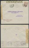 Spanien Auslands-Zensur-Brief Madrid 1944 spanische Zensur nach Lissabon (44992)