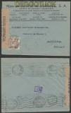 Spanien Auslands-Zensur-Brief Madrid 1944 spanische Zensur nach Lissabon (44993)