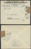 Spanien Auslands-Zensur-Brief Bilboa 1944 spanische Zensur in die USA (45003)