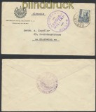Spanien Auslands-Zensur-Brief Bilbao spanische Zensur nach Wiesbaden (45008)