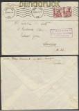 Spanien Auslands-Zensur-Brief Zaragoza spanische Zensur nach London (45012)