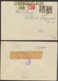 Spanien Auslands-Zensur-Brief Valencia spanische Zensur nach Paris (45013)