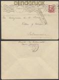 Spanien Zensur-Brief Zaragoza spanische Zensur 1938 nach Salamanca (45014)