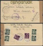 Tscheschoslowakei Auslands-Zensur-Brief Kosuty 1950 (45041)