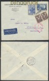 Griechenland Auslands-Zensur-LuPo-Brief 1938 griechische Zensur nach Dresden (44903)