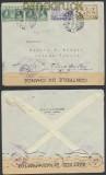 Griechenland Auslands-Zensur-Brief 1939 griechische Zensur nach Dresden (44905)