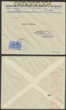 Griechenland Auslands-Zensur-Brief 1941 deutsche Zensur nach Frankfurt (44909)