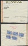 Griechenland Auslands-Zensur-LuPo-Brief 1943 deutsche Zensur (44911)