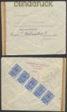 Griechenland Auslands-Zensur-Brief 1943 deutsche Zensur nach Wien (44912)