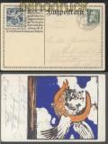 Bayern Flugpost Sonder-GSK SFP 1 gestempelt 1912 (45316)