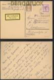 dt. Reich Flugpostkarte Hamburg - Bochum 1928 (45318)