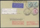 dt. Reich Erstflug Cottbus - Frankfurt/Oder 24.7.1929 (45321)