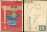 dt. Reich farb-AK Deutsche Kulturtage in Warschau 1941 gelaufen (45338)