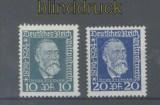 dt. Reich Mi # 368/69 Weltpostverein postfrisch (45076)