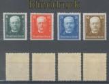 dt. Reich Mi # 403/06 Deutsche Nothilfe 1927 ungebraucht mit Falzspur (45082)