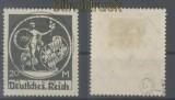 dt. Reich Mi # 138 V gestempelt geprüft Bauer BPP (44574)