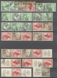 dt. Reich Zusammendrucke gestempelt komplett aus MH 45 (45629)