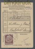 dt. Reich Mi # 518 EF Einlieferungsschein für ein Ausland-Paket (45734)