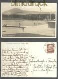 dt. Reich Mi # 486 EF Ansichtskarte Sonderporto nach Tschechien 1933 (45733)