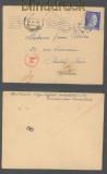 dt. Reich Mi # 793 EF auf Auslands-Zensur-Brief Arbeiter Lager Siegfried Hannover 1943 (45762)