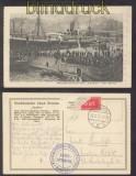 Feldpost 1. Weltkrieg sw-AK Reichspostdampfer Goeben Warschau 1917 (45745)