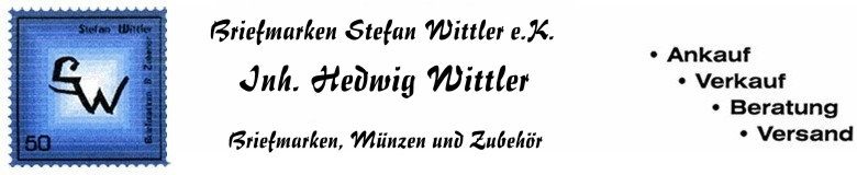 Briefmarken Wittler